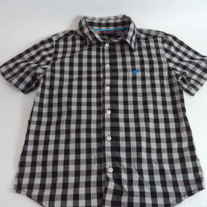 Wrangler Boy's Casual Button Shirt M CL713 0519